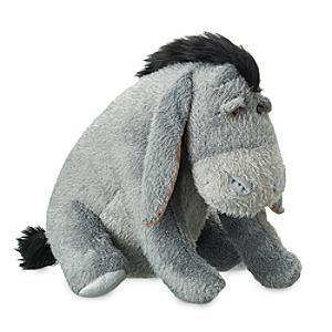 Disney Store Eeyore Medium Soft Toy, Christopher Robin