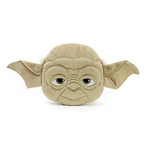 Yoda pude med stort ansigt
