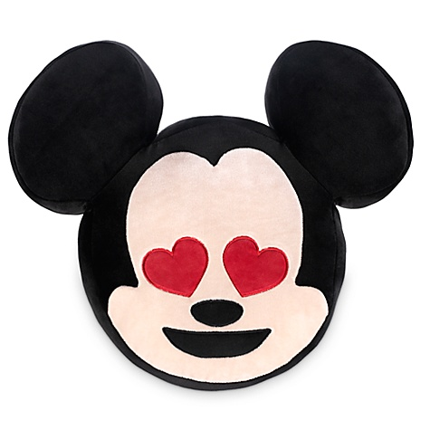 Coussin Mickey mouse style emoji