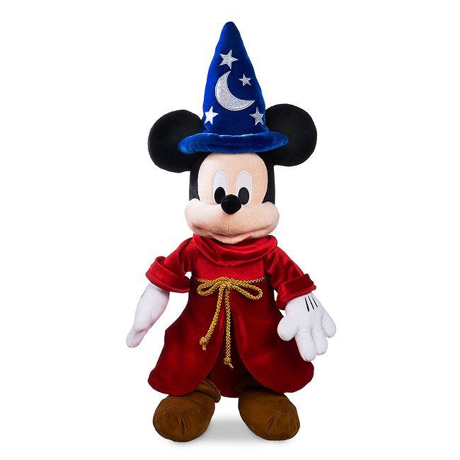 Disney Store grande peluche mickey mouse l'apprenti sorcier