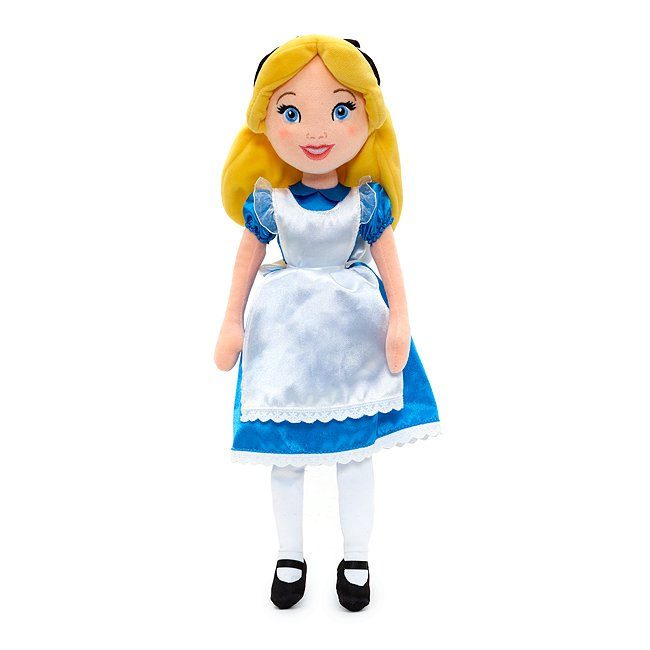 Image of Bambola di peluche Alice, Alice nel Paese delle Meraviglie Disney Store