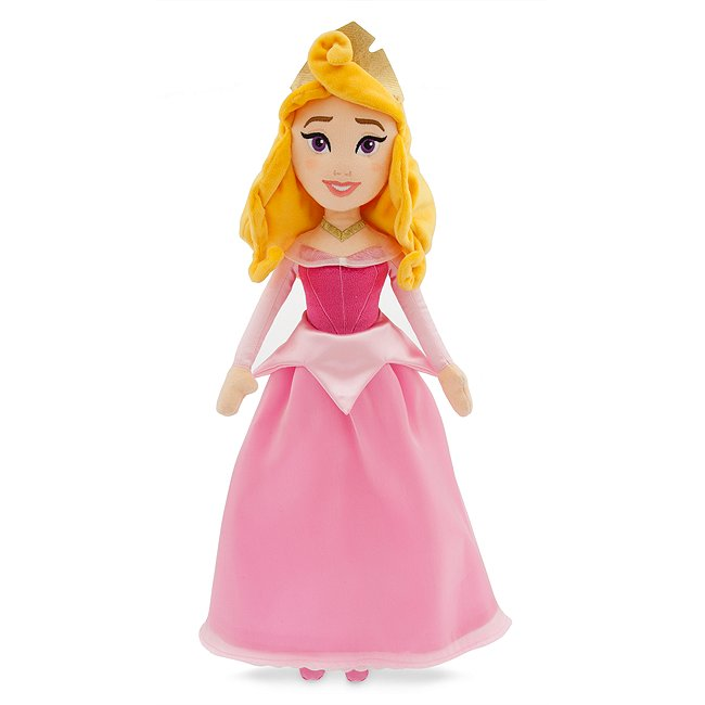 Disney Store poupée de chiffon aurore, la belle au bois dormant