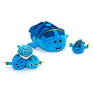 Finding Dory Tsum Tsum Bag and Mini Soft Toy Set - Soft Toy Gifts