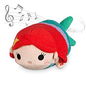 Ariel Musical Tsum Tsum Soft Toy, The Little Mermaid - Soft Toy Gifts