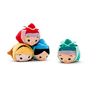 Sleeping Beauty Tsum Tsum Mini Soft Toy Set