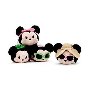 Minnie Mouse Dress Up Tsum Tsum Mini Soft Toy Set