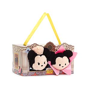 Mickey and Minnie Mouse Los Angeles Themed Mini Tsum Tsum Soft Toy Set - Tsum Tsum Gifts
