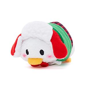 Mini peluche Tsum Tsum natalizio Paperino