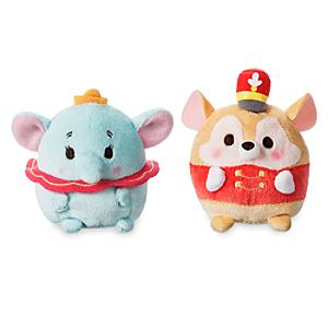 Dumbo and Timothy Mini Ufufy Soft Toy Set - Toy Gifts