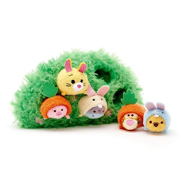 Ensemble Tsum tsum de pâques winnie l'ourson et ses amis