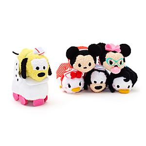 Mickey and Friends Micro Tsum Tsum Soft Toy Set, American Diner - Soft Toy Gifts