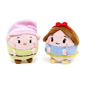 Snow White and Dopey Mini Ufufy Soft Toy Set - Soft Toy Gifts