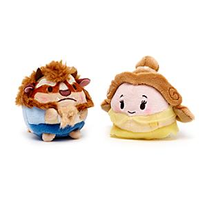 Beauty and the Beast Mini Ufufy Soft Toy Set - Soft Toy Gifts