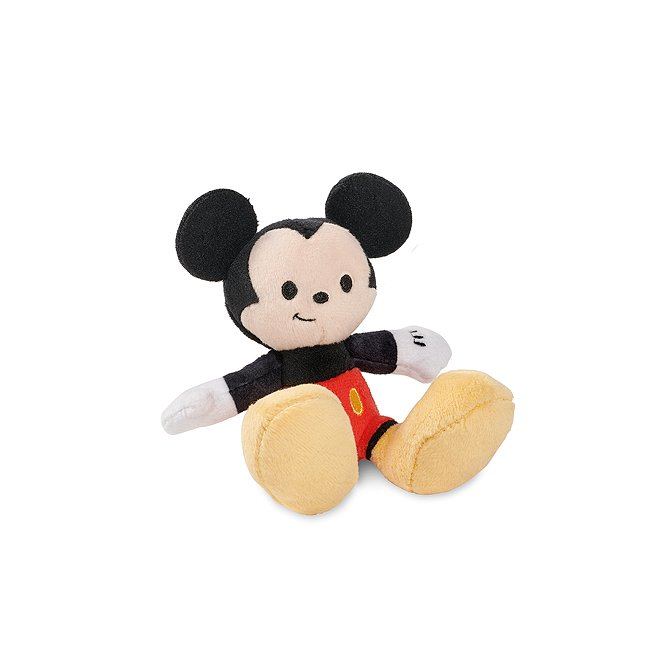 Disney Store peluche miniature mickey mouse, tiny big feet