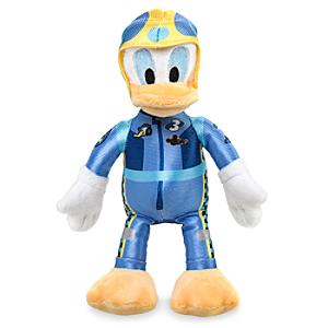 Donald Duck Roadster Racers Mini Soft Toy