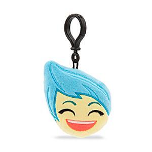 Disney Emoji Joy Soft Key Ring, Inside Out - Inside Out Gifts