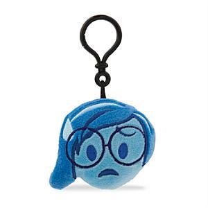 Disney Emoji Sadness Soft Key Ring, Inside Out - Inside Out Gifts