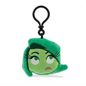 Disney Emoji Disgust Soft Key Ring, Inside Out - Inside Out Gifts