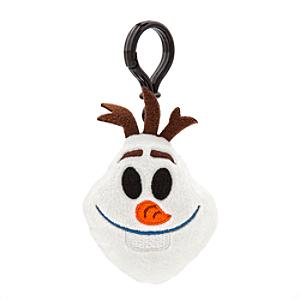 Olaf Emoji Plush Backpack Clip, Frozen