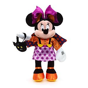 Halloween Minnie Mouse Small Soft Toy - Halloween Gifts