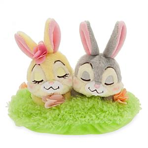 Thumper and Miss Bunny Easter Small Soft Toy - Easter Gifts