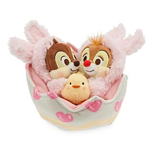 Chip 'n' Dale Easter Medium Soft Toy Set - Easter Gifts