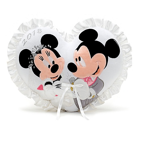 Coussin de mariage 2018 mickey et minnie mouse