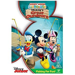 Mickey's Great Outdoors DVD - Outdoors Gifts