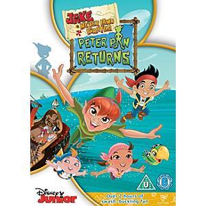 Jake and The Neverland Pirates: Peter Pan Returns DVD