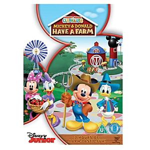 Mickey Mouse Clubhouse- Mickey and Donald have a Farm DVD - Disney Store Gifts