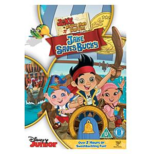 Jake and The Never Land Pirates: Jake Saves Bucky DVD - Pirates Gifts