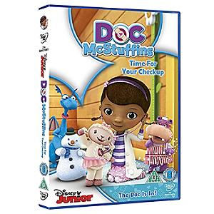 Doc McStuffins Time For Your Checkup DVD - Doc Mcstuffins Gifts