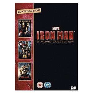 Iron Man 1 - 3 Box Set DVD� - Marvel Gifts