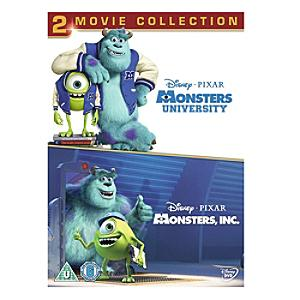 Monsters Inc & University DVD - University Gifts