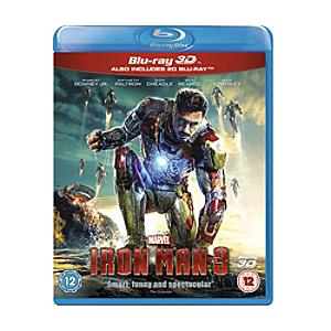 Iron Man 3 3D Blu-ray - Marvel Gifts