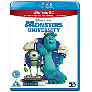 Monsters University 3D Blu-ray - University Gifts