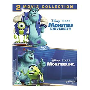 Monsters Inc & Monsters University Blu-ray - University Gifts