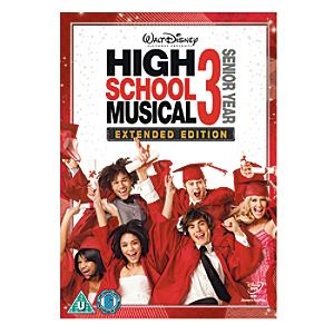 High School Musical 3 DVD - High School Musical Gifts