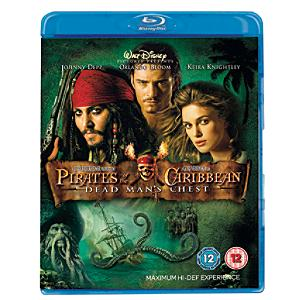 Pirates of the Caribbean: Dead Man's Chest Blu-ray - Pirates Gifts