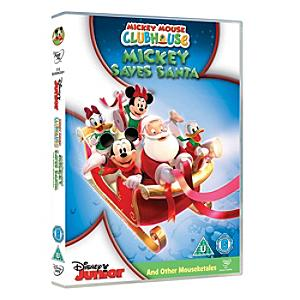 Mickey Mouse Clubhouse: Mickey Saves Santa&Other Mouseketales DVD