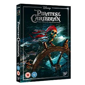 Pirates of the Caribbean - Curse of the Black Pearl DVD - Disney Gifts