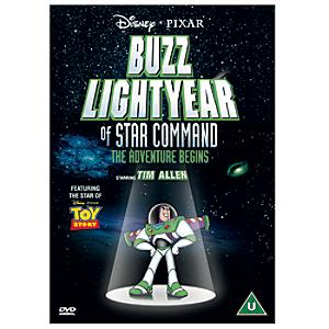 Buzz Lightyear Of Star Command DVD - Buzz Lightyear Gifts