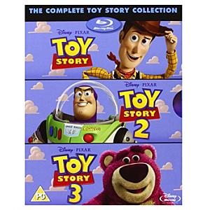 Toy Story Blu-ray Triple Pack - Toy Story Gifts