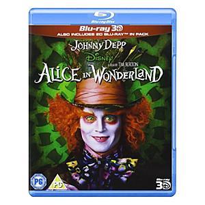 Alice in Wonderland 3D/2D Blu-ray - Alice In Wonderland Gifts