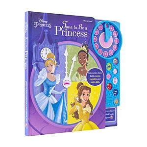 Time to be a Princesss - Clock book