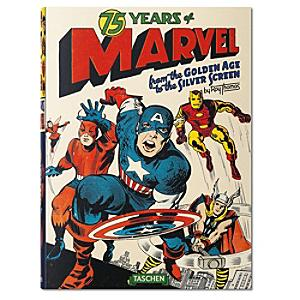 75 Years of Marvel Comics - From the Golden Age to the Silver Screen - Marvel Gifts