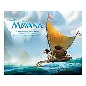 The Art of Moana Book - Moana Gifts