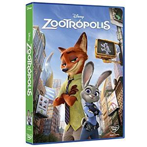 Zootrópolis DVD