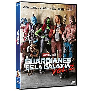 Guardianes de la Galaxia Vol.2 DVD