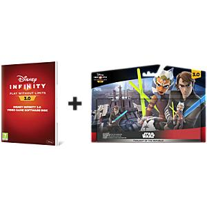 Disney Infinity 3.0: Twilight of the Republic Play set bundle - Wii U - Wii Gifts
